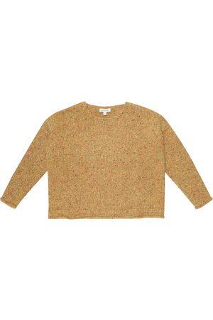 Caramel Warbler wool-blend sweater
