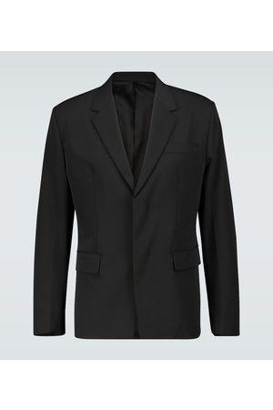 Prada Hidden button suit blazer