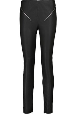 Givenchy High-rise slim leather pants