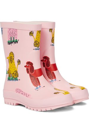 Stella McCartney Doodle Poodles printed rainboots
