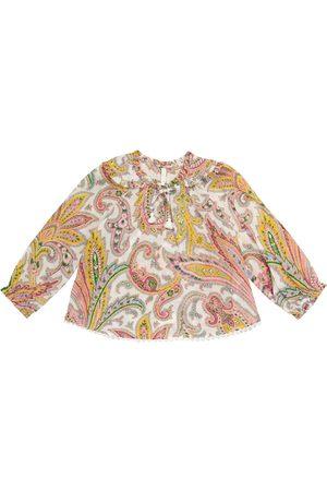 ZIMMERMANN Teddy cotton blouse
