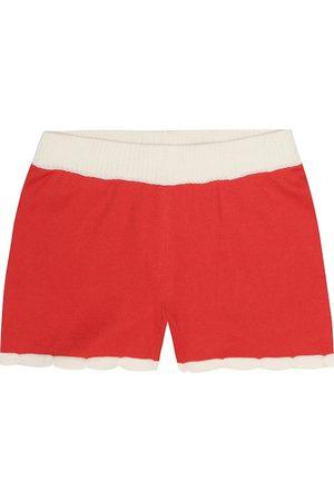 Mini Rodini Scallop cotton shorts