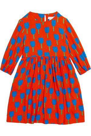 Stella McCartney Printed crêpe dress