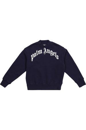 Palm Angels Logo cotton sweatshirt
