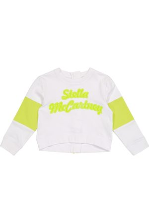 Stella McCartney Logo organic cotton sweatshirt