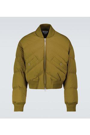 Bottega Veneta Cropped padded bomber jacket