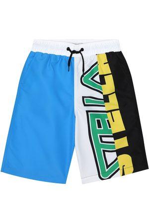 Stella McCartney Logo swim trunks