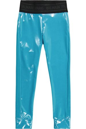 Balmain Metallic leggings