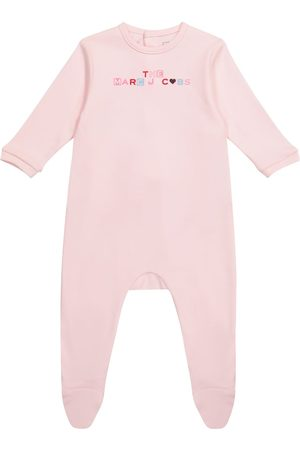 The Marc Jacobs Baby logo cotton jersey bodysuit
