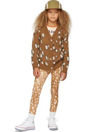 Molo Dames Leggings - Kids Brown Niki Leggings