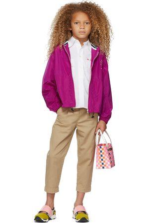 Marni Kids Pink Hoodie Jacket