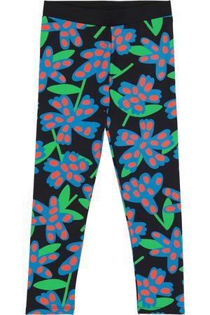 Stella McCartney Floral stretch-jersey leggings