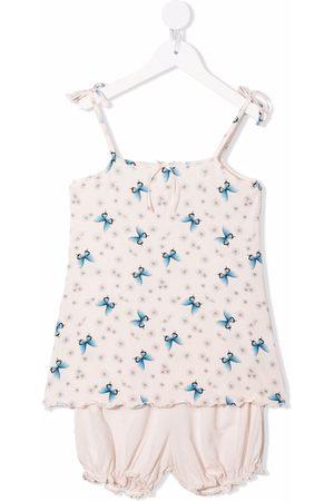 Story Loris Meisjes Pyjama's - Butterfly-print modal pajama set