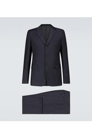 Prada Formal wool and mohair-blend suit