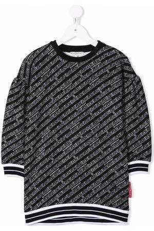 Givenchy Kids Meisjes Casual jurken - Logo-print casual dress