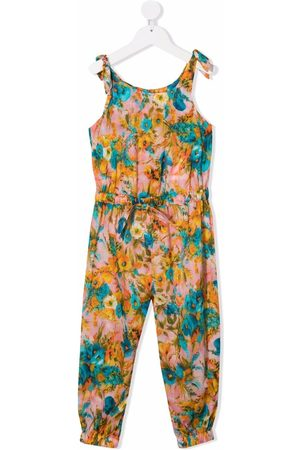 ZIMMERMANN Meisjes Playsuits - Floral-print jumpsuit