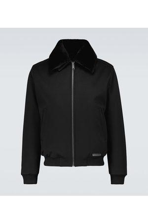 Prada Waterproof cashmere bomber jacket