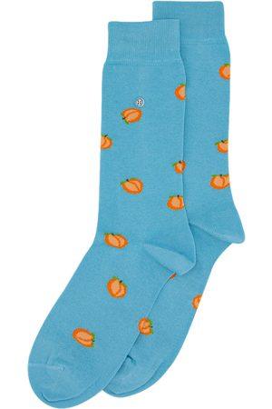 Alfredo Gonzales Heren Sokken - Sokken peach green orange