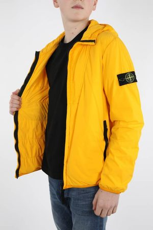 Stone Island Jongens Korte jassen - Yellow jacket