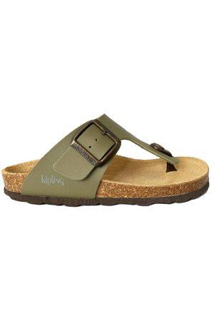 Kipling Jongens Slippers - Slippers juan 4 khaki