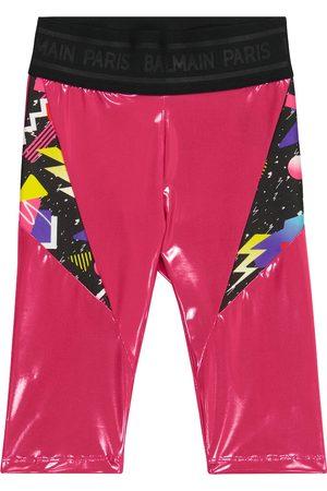 Balmain Printed leggings