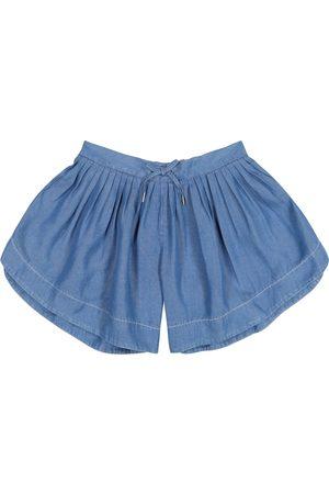 Chloé Meisjes Shorts - Pleated shorts