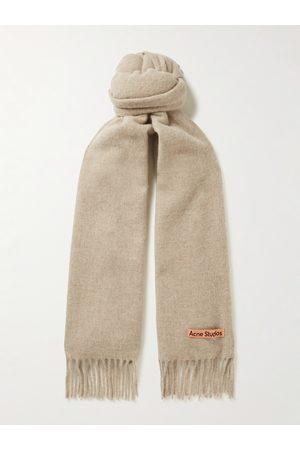 Acne Studios Heren Sjaals - Canada Fringed Wool Scarf