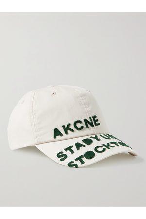 Acne Studios Logo-Appliquéd Cotton Baseball Cap