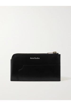 Acne Studios Heren Portefeuilles - Leather Zip-Around Wallet