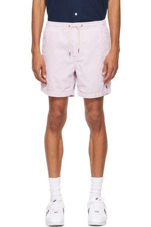 Polo Ralph Lauren Heren Shorts - Purple Corduroy 6 Inch Prepster Shorts