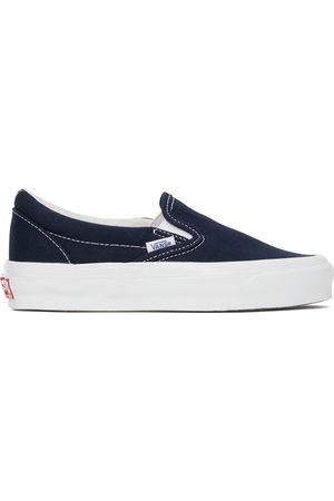Vans Navy Vault OG Classic Slip On Sneakers