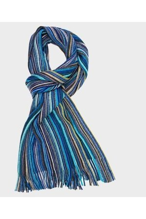 Michaelis Scarf knitted blue pm1s30011b