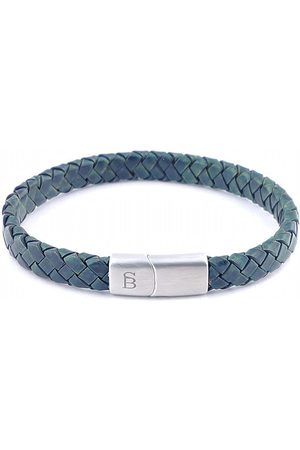 Steel&Barnett Heren Armbanden - Lbr/003 dark green