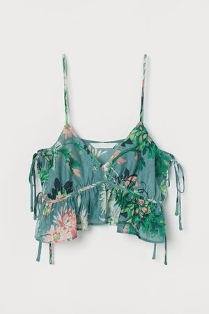 H&M Crop top - Turquoise