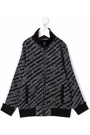 Givenchy Chain-print zip-up bomber jacket