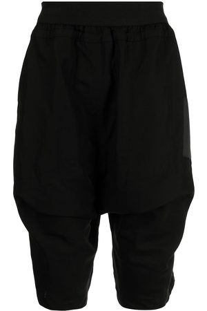 JULIUS Flap-pocket drop-crotch shorts
