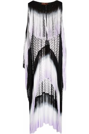Missoni Stripe tasselled cover-up