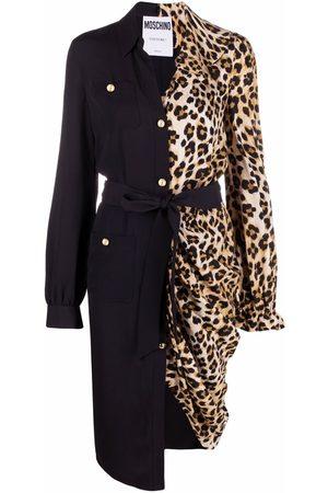 Moschino Panelled shirt dress
