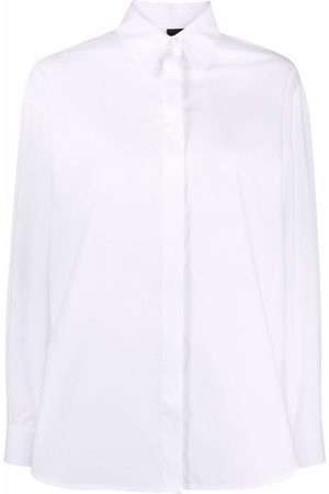 Pinko Long-sleeved cotton shirt