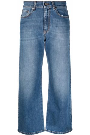 P.a.r.o.s.h. Cropped straight-leg jeans