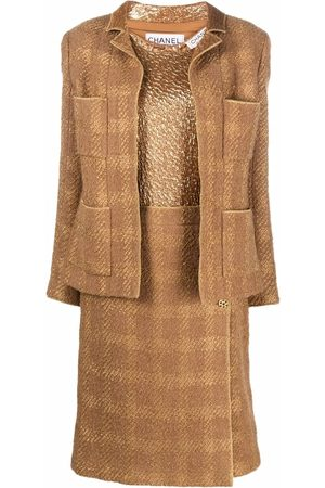 CHANEL 1990s three-piece skirt suit