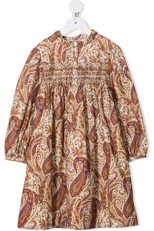 BONPOINT Paisley-print smock dress