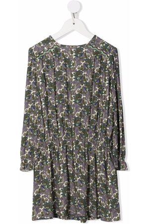 BONPOINT Floral-print gathered dress