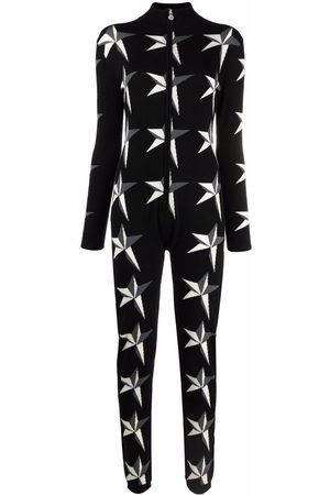 Perfect Moment Star-intarsia jumpsuit