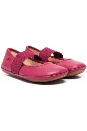 Camper Meisjes Instappers - Right leather ballerina shoes