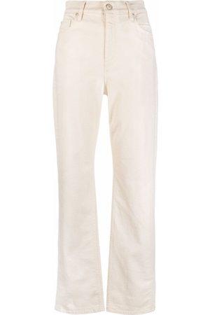 Dorothee Schumacher High-rise straight leg jeans