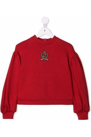 Dolce & Gabbana Logo-patch sweatshirt