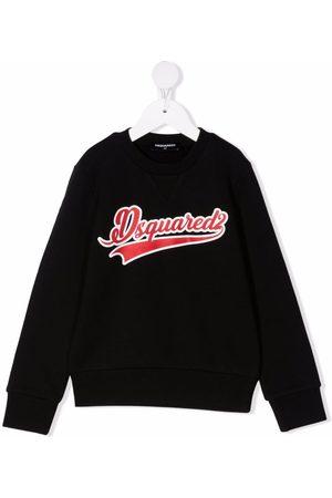 Dsquared2 Kids Meisjes Sweaters - Logo-print cotton sweatshirt