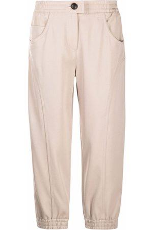 Giorgio Armani Cropped wool trousers
