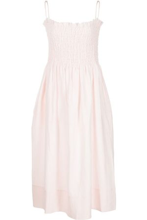 Three Graces London Lena linen midi dress